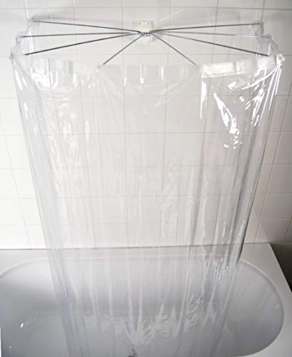 RIDDER Duschfaltkabine Ombrella Brillant transparent 170 cm