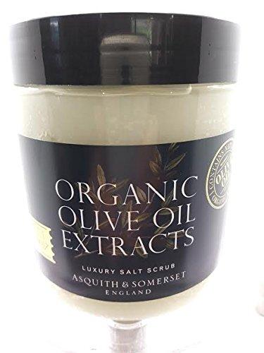 Organic Olive Oil Extracts Luxury Salt Scrub 550g/19.40oz