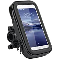 Ly impermeable Funda de soporte para bicicleta y motocicleta soporte Universal con sensible pantalla táctil para iPhone X iPhone 8 /7/SE/6S/6 SAMSUM teléfono Huawei 3 C de hasta 5.2 pulgadas