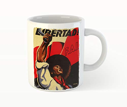 Libertad FAI - Anarchy Protest Kaffee Tee Becher