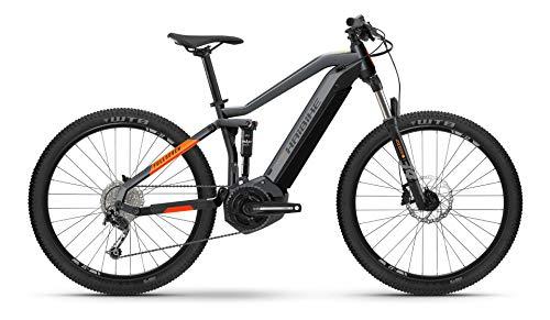Winora Haibike FullSeven 4 Yamaha Elektro Bike 2021 (XL52cm, Cool Grey/Lava Matte)
