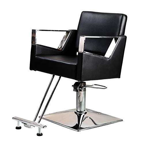 Best Prices! Salon Style Professonal Hydraulic Salon Chair Barber Chairs for Hair Stylist Tattoo Cha...