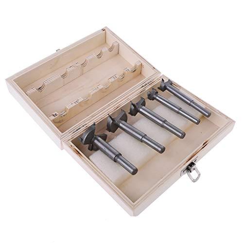 5 Stück/Set Bohrer Forstnerbohrer Holzbohrer Holzbearbeitung High Carbon Stahl Säge Cutter Stanzwerkzeug 15 mm/20 mm/25 mm/30 mm/35 mm