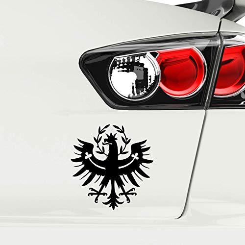 Tiroler Adler Auto Aufkleber Tirol Autoaufkleber Sticker Wappen Schwarz