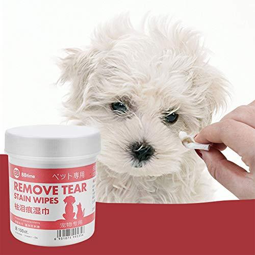 ACHICOO Pet Eye Cleaning Feuchttücher für Hund Bichon Pomeranian Teddy für Heimtierbedarf