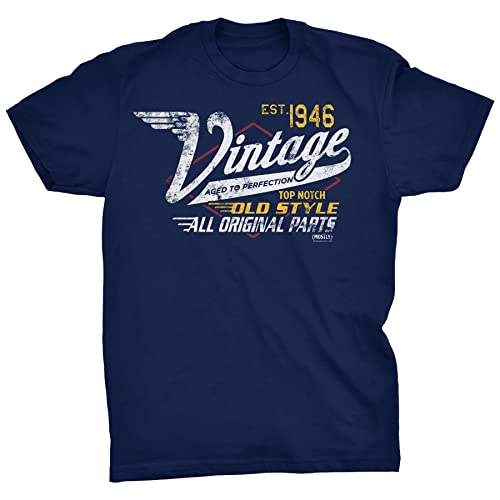 Vintage 1946 Aged to Perfection Shirt - 8 Colors