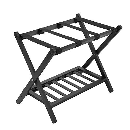 Buy Bargain LQQFF Folding Suitcase Stand Luggage Rack for Storing Luggage Backpacks as Luggage Racks...