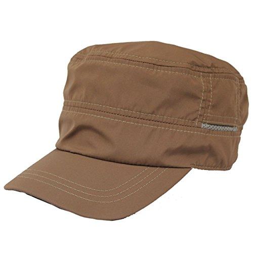 レインキャップ ワークキャップ 撥水加工 ゴルフ 帽子 メンズ レディースBCH-30114 16ベージュ