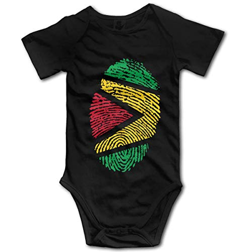 Guyana Flag Ideas Only on Pinterest Baby Rompers Short Sleeve Baby Girls Bodysuit