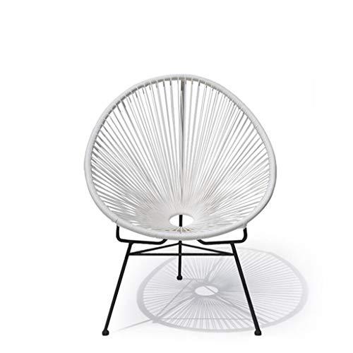 BTPDIAN Nordic meubilair ijzeren stok stoel outdoor rotan lounge stoel cafe stoel talk stoel (vier kleuren) bureaustoel