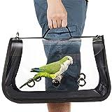 Zaino da viaggio per uccelli con gabbia traspirante per pappagalli.