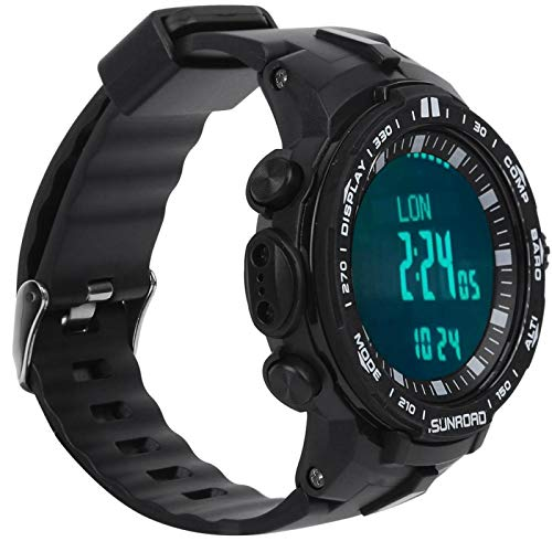Gmkjh Reloj de Pesca, Reloj Deportivo de Pesca, 5ATM, recordatorio de Alarma...