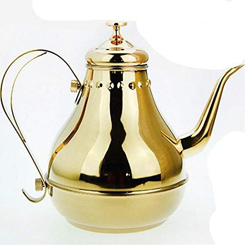 Edelstahl Palace Topf kalten Wasserkocher Europäischen Kaffeekanne Home Hotel mit Filter Teekanne 1.2-litremagnetic-freegoldcourtpot