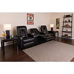 Flash Furniture Eclipse Series - 3 home theatre recliners