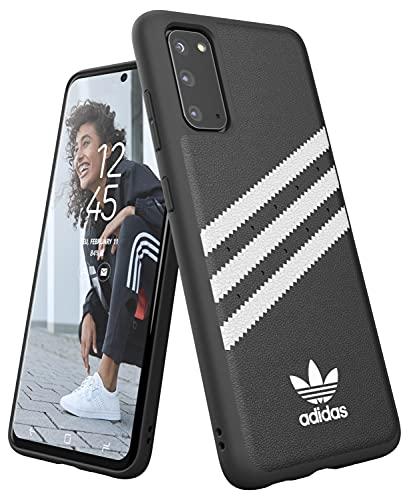 adidas Originals Designed für Samsung Galaxy S20 Hülle DREI Streifen Schutzhülle - Schwarz & Weiß - 6.2 Zoll