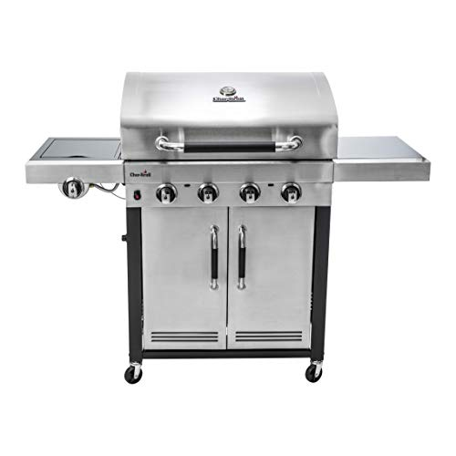 Char-Broil Advantage Series™ 445S - Barbecue in acciaio inox a 4 bruciatori con...
