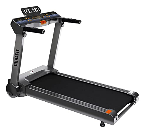 Durafit Spark 1.25HP ( 2.5HP Peak ) DC-Motorised Treadmill ( Max Speed: 12 km/hr, Max Weight:...