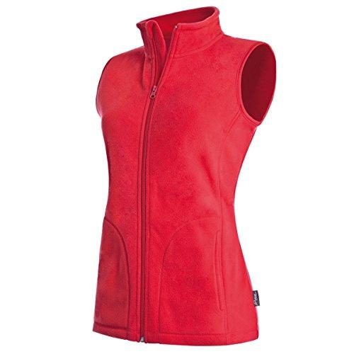 Active By Stedman Damen Fleece-Weste (L) (Rot) L,Rot