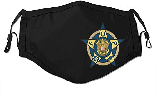 Fop Badge Face Mask with Filter Anti Dust Washable Reusable Breathable Bandana Scarf Shield for Men & Women