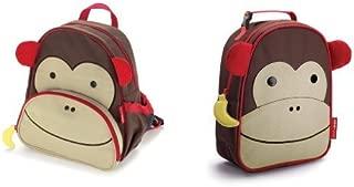 Skip Hop Zoo Backpack and Lunchie Set, Monkey