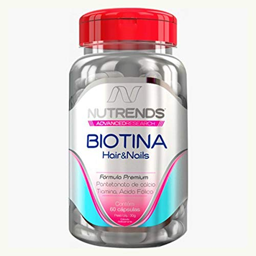 Nutrends - Biotina Hair&Nails 450mg 60 cápsulas