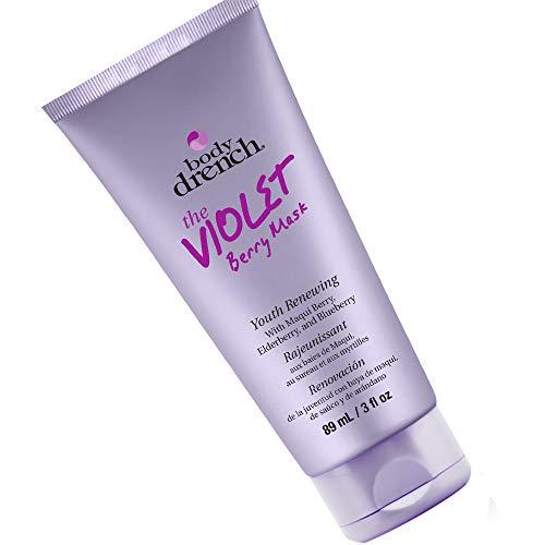 Body Drench Mascara Facial Violet Berri Peel Off 89 ml