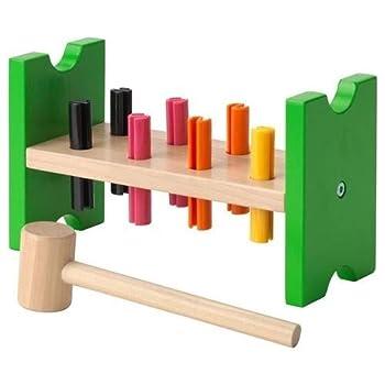 IKEA MULA 2016 new Toy hammering block multicolour