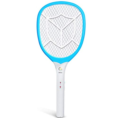 MISJIA Mosquito eléctrico Batería de Litio Recargable Potente Asesino de Mosquitos Malla...