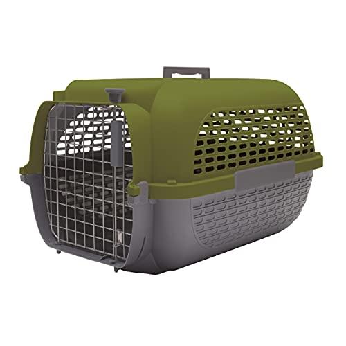 Dogit Catit Sac de Transport pour Chien Gris/Kaki Taille XL 68 x 47 x 43 cm