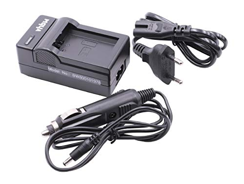 vhbw Akku Ladegerät Ladeschale passend für Sony Alpha NEX-5H, NEX-5HB, NEX-5K, NEX-5KS, NEX-5N Digitalkamera- Camcorder- DSLR- Action Cam-Akku
