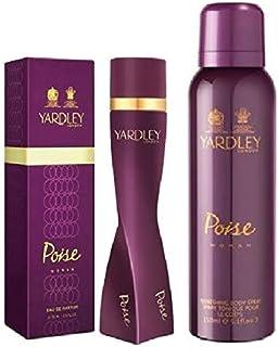 Set of Yardley Poise Eau de Toilette 100ML and Yardley Poise Body Spray 150ML - YD42701PRO