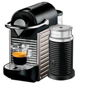 Krups XN301 Nespresso Pixie Titanium with AerDispino 3