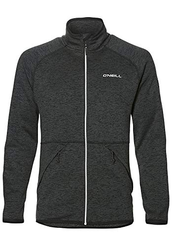 O'Neill Herren Fleecejacke Piste Fleece Jacket Shirts & Fleece, Black Out, XS