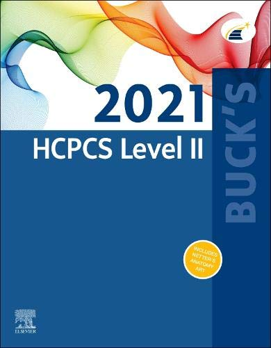 Buck's 2021 HCPCS Level II (HCPCS Level II (Saunders))