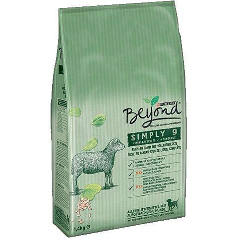 Purina Beyond Simply 9 Lamm | 1,4kg Hundefutter trocken