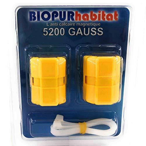 Kalkschutz Magnetischer Anti Kalk Magnet 5200 gauss Biopur habitat