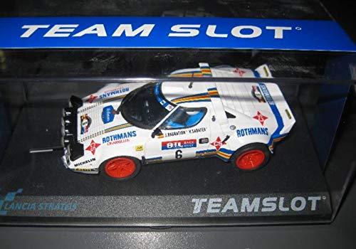 Fly SCALEXTRIC Lancia Stratos ROTHMANS Race 1981 DE Team Slot