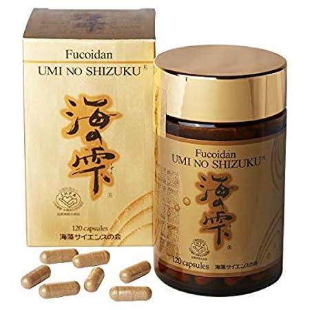 Umi No Shizuku Fucoidan by BIHOLON, INC. [並行輸入品]