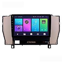 TOYOTA CROWN12のためのAndroidの10.0カーステレオダブルディンヘッドユニット4G DSP Carplayと2003年から2007年GPSナビゲーション9インチのタッチスクリーンMP5マルチメディアプレーヤーラジオビデオレシーバ,8core 4g wifi 3+32