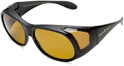 Eagle Eyes FitOns Polarized Sunglasses - Black Matte