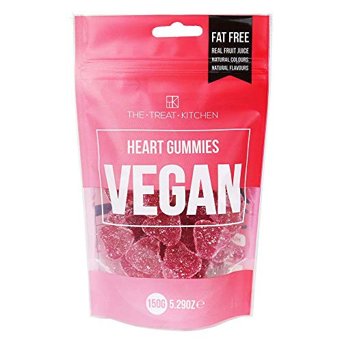 TTK The Treat Kitchen Vegan Hearts Pouch, 150 g, Pack of 2