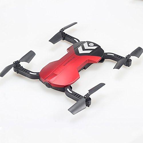 OOFAY Drohnen Mit X25 HD Kamera Auf Hohe H  0.3MP WIFI FPV Fliegen Drohne Fernbedienung Quadcopter Kamera Selbst Zeit Klapp Kinder Spielzeug Geschenk (Rot)
