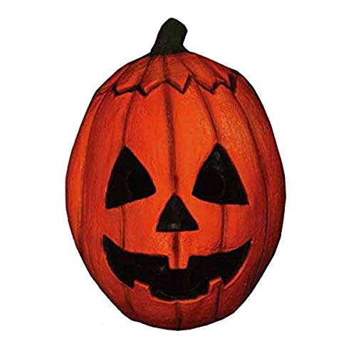 Trick or Treat Studios Men's Halloween III-Pumpkin Mask, Multi, One Size