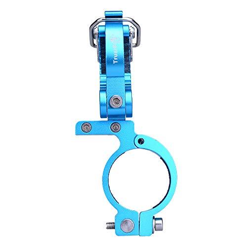 TrustFire HE02 - Soporte para Manillar de Bicicleta de montaña, Color Negro, Azul y Rojo, HE02-Blau