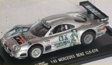 Mercedes-Benz Clk-gtr Clk Gtr 24 H Le Mans Silber Nr 12 1/43 High Speed Modellauto Modell Auto