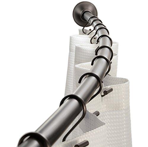 iDesign Curved Metal Shower Curt...