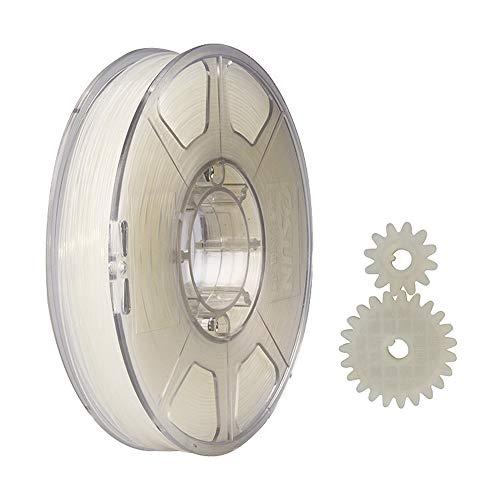 eSUN Filamento Nylon 1.75mm, Filamento PA de Impresión 3D, Precisión Dimensional +/- 0.05mm, 1KG (2.2 LBS) de Carrete para Impresora 3D, Natural