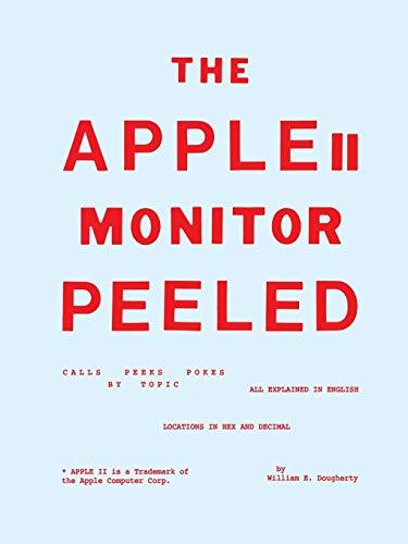 The Apple II Monitor Peeled