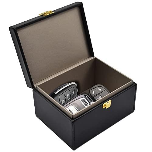 Faraday Key Fob Protector Box, RFID Signal Blocking Box, Faraday Box Signal Blocking Shielding Box for Car Key