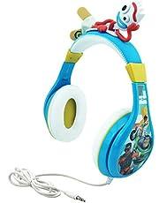 Kids Toy Story 4 - Auriculares Bluetooth para niños, inalámbricos, Recargables, Plegables, Bluetooth, con micrófono